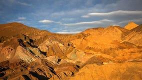 Kunstenaarspalet in het Nationale Park van de Doodsvallei Stock Fotografie