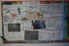 Kunstenaarsuitdrukking van het Zijverhaal van het Oosten van Vancouver Royalty-vrije Stock Foto's