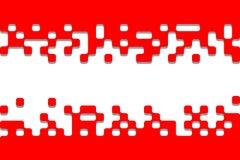Kunstfahne mit Platz und Raum für Ihren Text Lizenzfreie Stockbilder