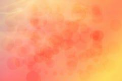 Kunstfarbe-bokeh Hintergrund Lizenzfreie Stockfotos