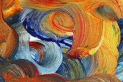 Kunstfertigkeit - lassen Sie Farben laufen vektor abbildung
