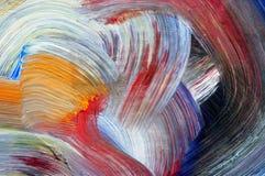 Kunstfertigkeit - lassen Sie Farben laufen Stockbilder