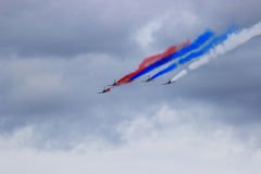 Kunstfliegenkampfpiloten Stockfoto