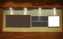 Kunstgalerie-Ausstellunghalle Lizenzfreies Stockbild