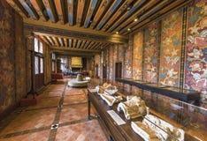 Kunstgalerie im Chateau Blois Stockfotografie