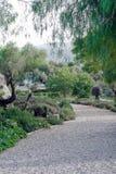 Kunstgarten-Kiespfad Lizenzfreies Stockbild