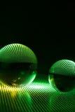 Kunstglaskugel Stockbilder