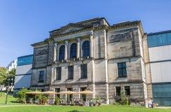Kunsthalle museum i den historiska mitten av Bremen Arkivfoton
