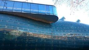 Kunsthaus博物馆在格拉茨 免版税库存图片
