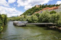 Kunsthaus Грац в Граце, Австрии, 2015 Стоковые Изображения RF