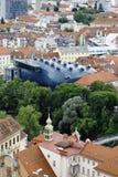 Kunsthaus Грац в Граце, Австрии, 2015 Стоковая Фотография