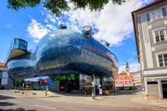 Kunsthaus centrum w Graz, Austria Zdjęcia Royalty Free