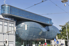 Kunsthaus, an exhibition center for contemporary art in Graz, Austria. Royalty Free Stock Image