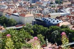 Kunsthaus Graz in Graz,Austria,2015 Royalty Free Stock Images