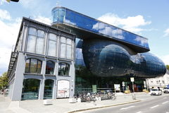 Kunsthaus Graz in Graz,Austria,2015 Stock Photography