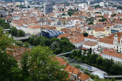 Kunsthaus Graz in Graz,Austria,2015 Royalty Free Stock Image