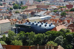 Kunsthaus Graz in Graz,Austria,2015 Stock Photos
