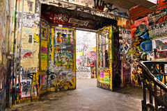 The Kunsthaus Tacheles, Berlin. Stock Photography