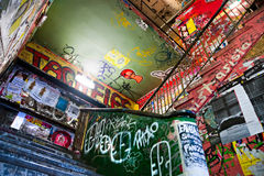 The Kunsthaus Tacheles, Berlin. royalty free stock photography