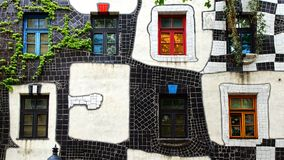 KunstHausWien. Museum Hundertwasser in Wien Stock Photos