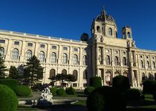 Kunsthistorisches Museum of Fine Arts in Vienna, Austria Royalty Free Stock Photos