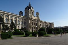 Kunsthistorisches Museum of Fine Arts in Vienna, Austria Royalty Free Stock Photo