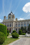 Kunsthistorisches Museum  summer view in Vienna, Austria. Royalty Free Stock Photo