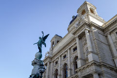 Kunsthistorisches Museum. A Picture infron of the Kunsthistorisches Museum, Vienna, Austria royalty free stock image