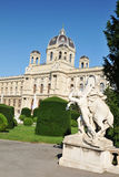 Kunsthistorisches Museum, Vienna royalty free stock photo