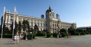 Kunsthistorisches-Museum von schönen Künsten in Wien, Österreich Lizenzfreies Stockfoto