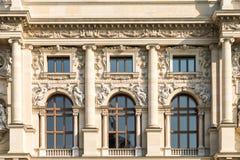 Kunsthistorisches muzeum W Wiedeń (muzeum sztuki historia Lub muzeum sztuki piękna) Zdjęcie Royalty Free