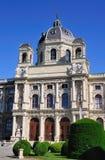kunsthistorischesmuseum vienna Royaltyfri Fotografi