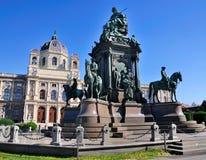 kunsthistorischesmuseum vienna Royaltyfria Foton