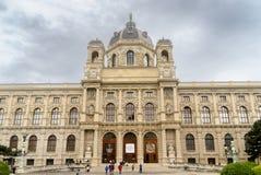 Kunsthistorischesmuseum Wien Royalty-vrije Stock Afbeeldingen