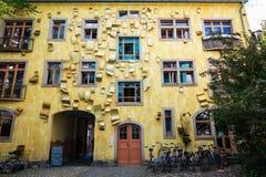 Kunsthof段落在德累斯顿 库存图片