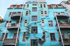Kunsthof,德累斯顿 免版税库存图片