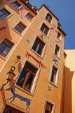 Kunsthofpassage в Дрездене Стоковое фото RF