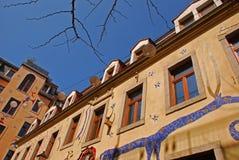 Kunsthofpassage w Drezdeńskim zdjęcia royalty free
