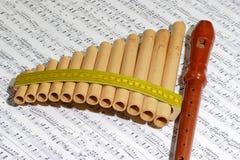 Kunstinstrumente Lizenzfreies Stockfoto