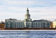 The Kunstkamera museum in Saint-Petersburg Stock Photos