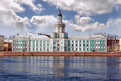 Kunstkamera museum in st. Peterburg Royalty Free Stock Photography