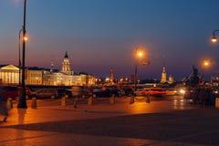 Kunstkamera and Neva river, Saint Petersburg Stock Images