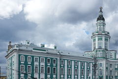 Kunstkameraen St Petersburg Fotografering för Bildbyråer