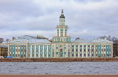 The Kunstkammer Museum of Anthropology and Ethnography in Saint Petersburg. Stock Photography