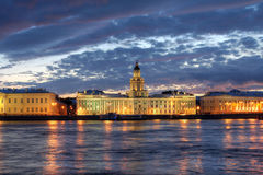 Kunstkammer, Saint Petersburg, Russia Stock Images