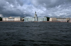 Kunstkammer in St. Petersburg Stock Afbeeldingen