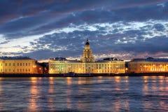 Kunstkammer St Petersburg, Ryssland Arkivbilder