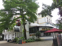 Kunstkring Art Gallery in Menteng, Jakarta. Kunstkring Art Gallery is a Dutch Colonial building Stock Photo