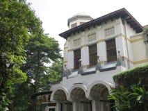 Kunstkring Art Gallery in Menteng, Jakarta. Kunstkring Art Gallery is a Dutch Colonial building Stock Photography