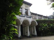 Kunstkring Art Gallery in Menteng, Jakarta. Kunstkring Art Gallery is a Dutch Colonial building Royalty Free Stock Photos